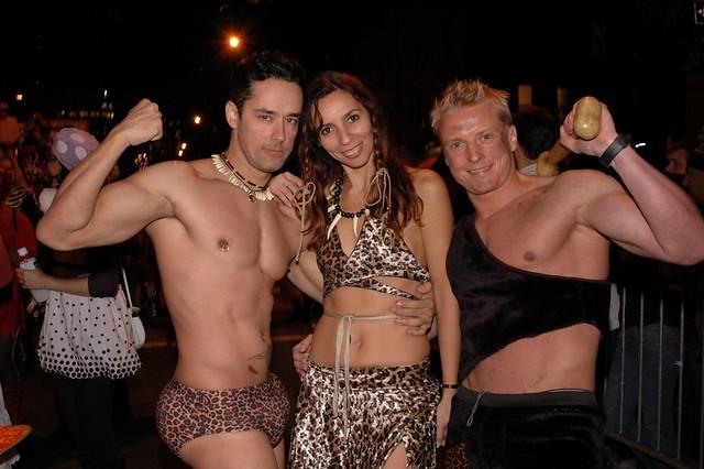 Halloween Parade 2007 Tarzan, Jane, And Tarzan  Gene -5998
