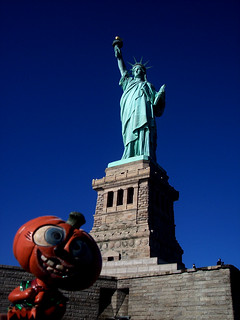 Liberty Is Lovely Lady >> Lovely Lady Liberty Aww Pumpkin Get Out Of The Picture Flickr