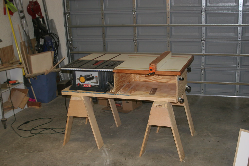 Table Saw Station From The New Yankee Workshop Plans