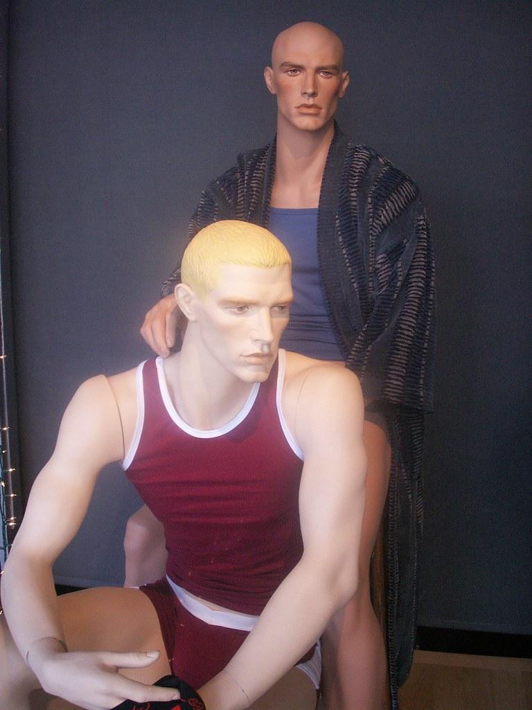 Homosexual mannequin