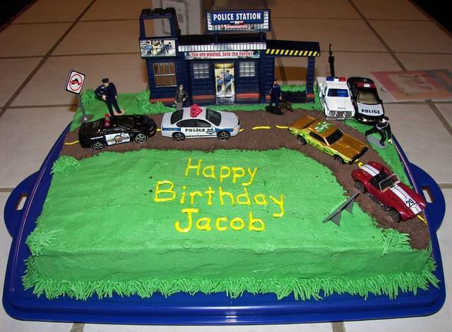 Police Birthday Cake Trisha Made This For Jacob You