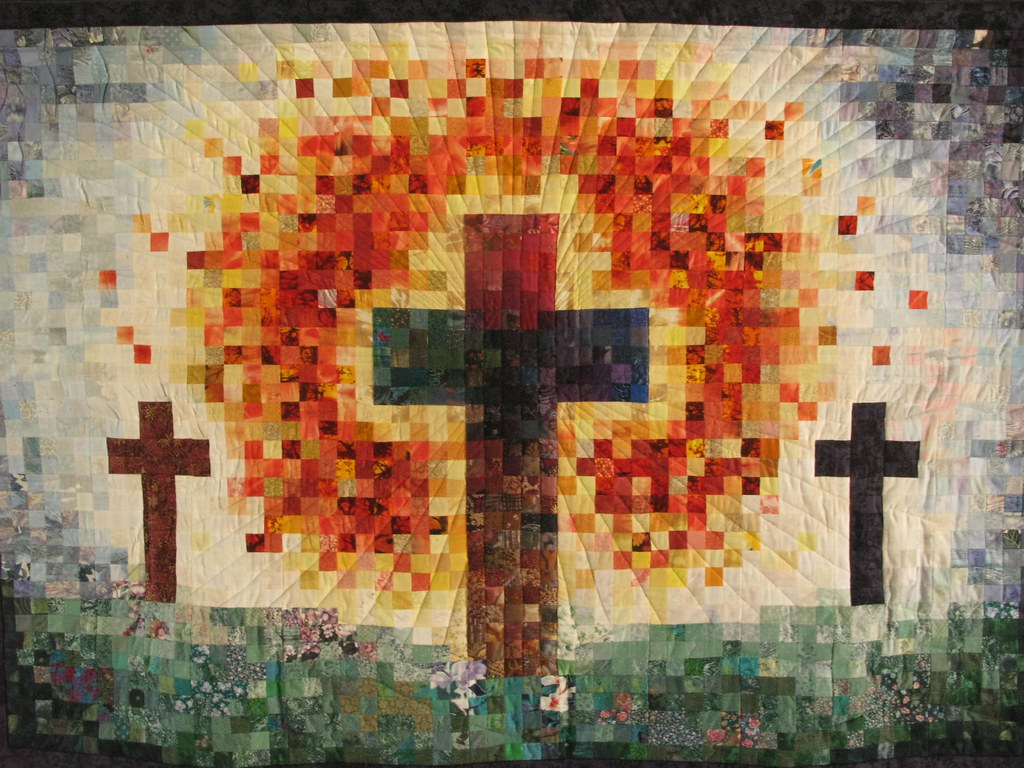 Cross Quilt Scott Dispensa Amp Heather Stricker S Wedding