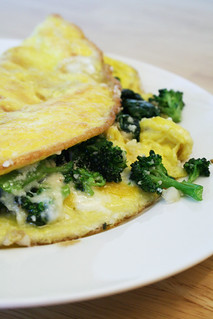 Broccoli & Spinach Omelet 03.08.08 | by ccharmon
