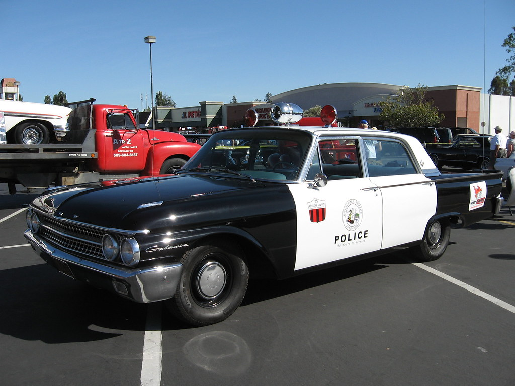 1961 Ford Galaxie Police Car Recreation Of American