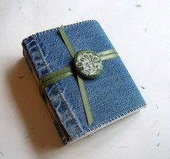Recycled Denim Journal | by moxylyn