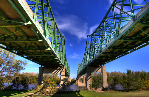 Mormon Bridge, Omaha | by Thad Roan - Bridgepix