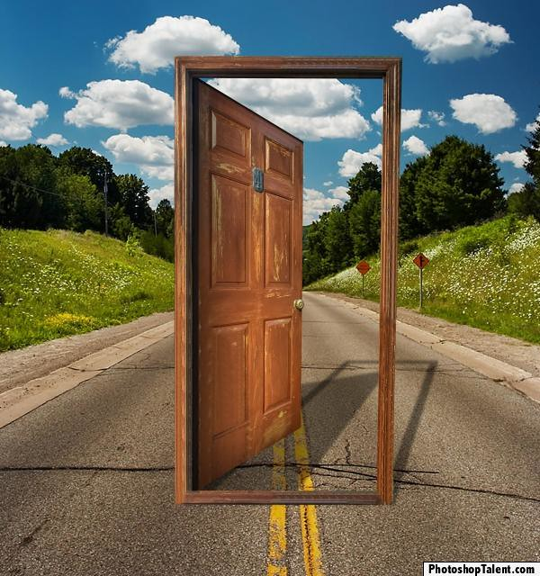 by pxleyes Photoshop picture Door to Nowhere... | by pxleyes & Photoshop picture: Door to Nowhere... | Door to Nowhere... \u2026 | Flickr