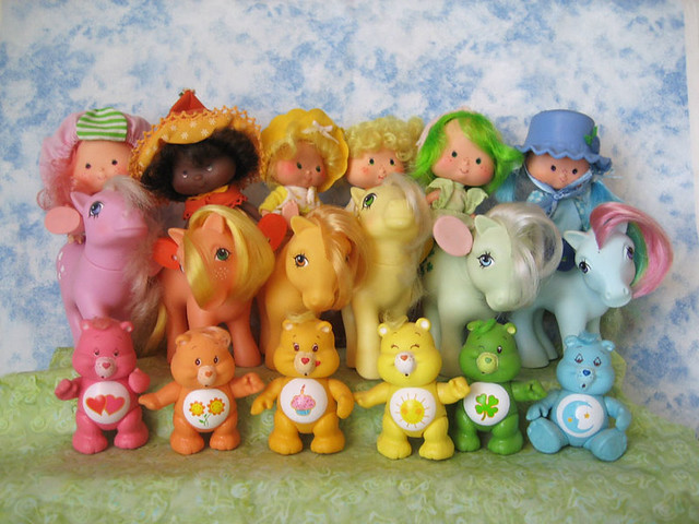 Toys For The 80s : Rainbow of s toys aimee ray flickr