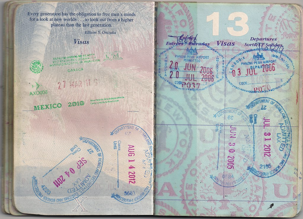 USA Passport: Cambodia, USA, Mexico | (Previous Page) First … | Flickr