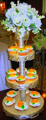 wedding cupcake tower - gold ~totcupcakes.com~ | by wetotla