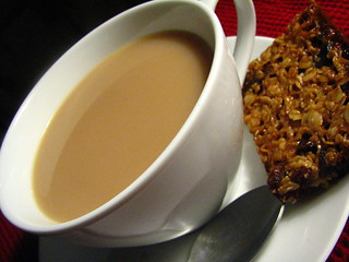 Tea and Cranberry Flapjack | by SeppySills