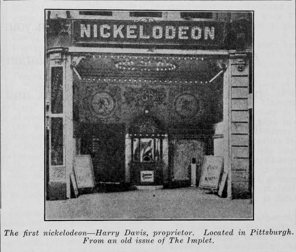 the first nickelodeon  opened in pittsburgh in1905