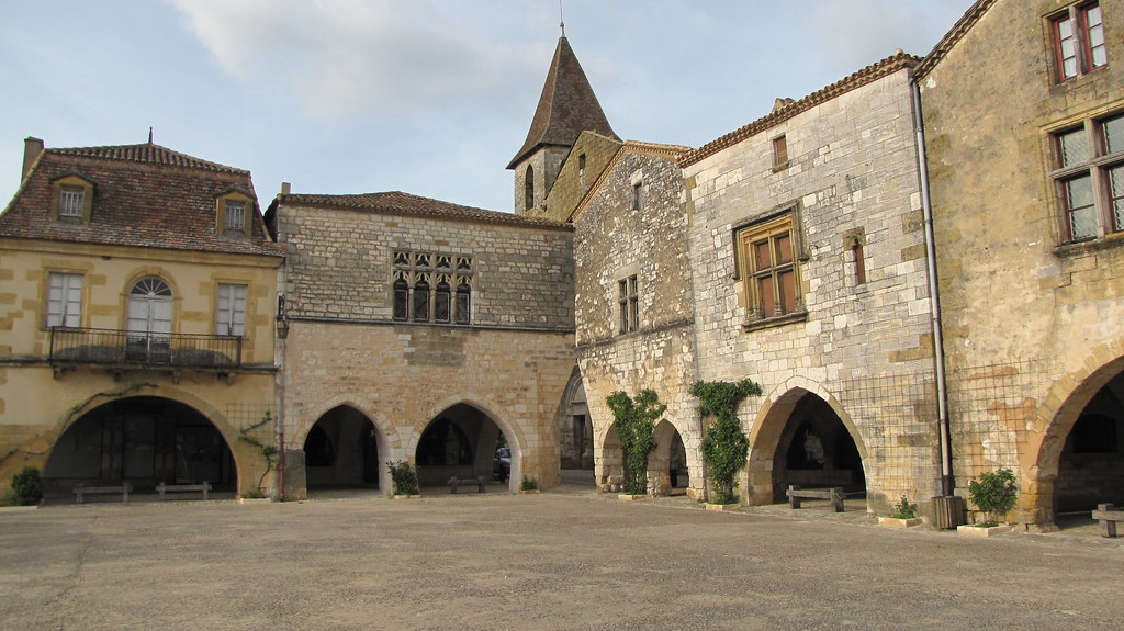 Bastide De Monpazier Plan De La Ville