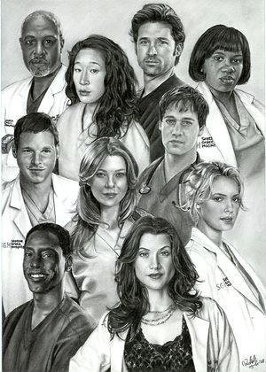 Grey's Anatomy Cast | focuses on young people struggling ...