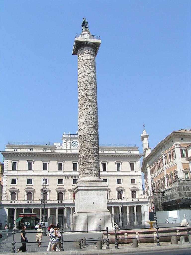 Colonna di Marco Aurelio | La Colonna di Marco Aurelio ...