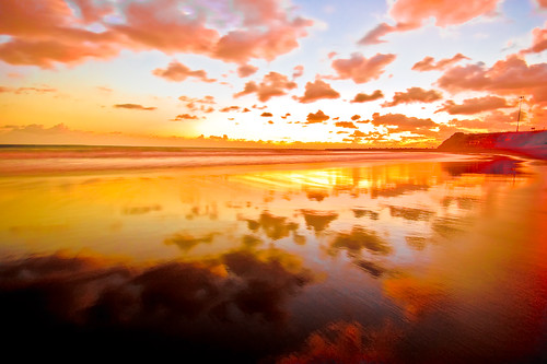 Orange-pink sunrise (e) | La Laja - Gran Canaria | Flickr