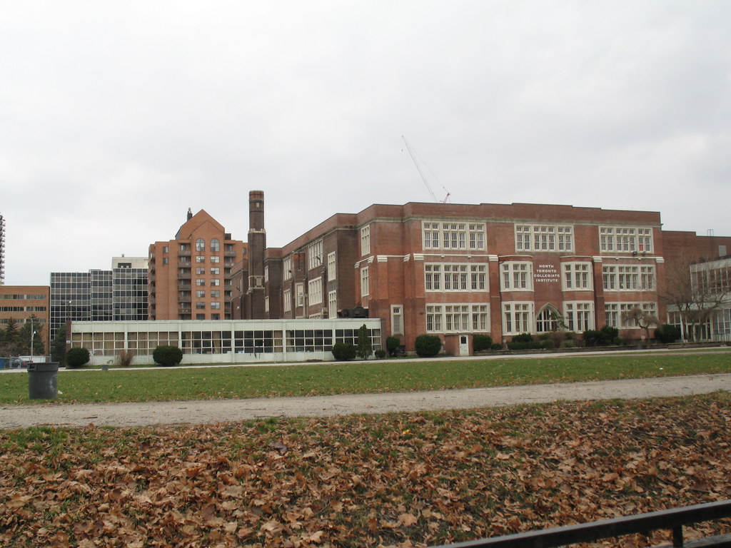 North Toronto Collegiate Institute | The oldest parts of ...
