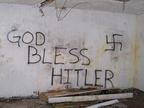"God Bless Texas --uhmm I mean Hitler? | ""I came here to ..."
