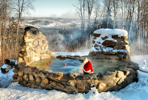 my wood fired stone hot tub | by Mark McCulloch