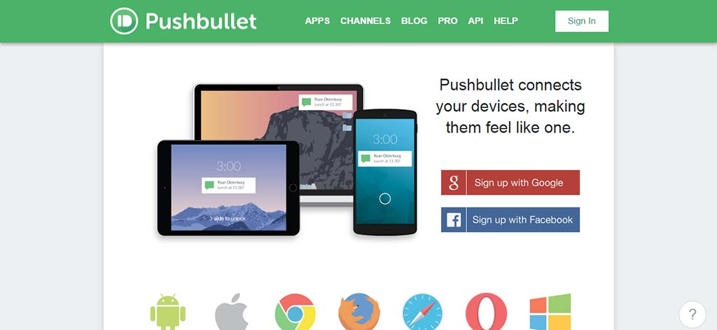 Extremely useful websites #9: A very useful extension that lets you use phone application from your desktop.
