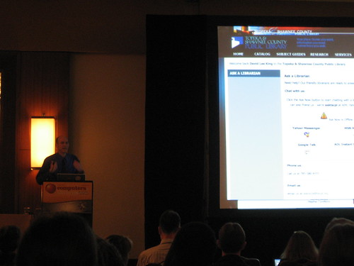 David Lee King at CIL2010 | by herzogbr
