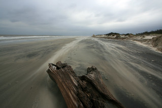 jekyll island glynn co ga blowing sand in a storm 6 | by Alan Cressler