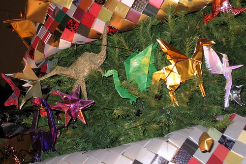 Origami Holiday Tree At The American Museum Of Natural History