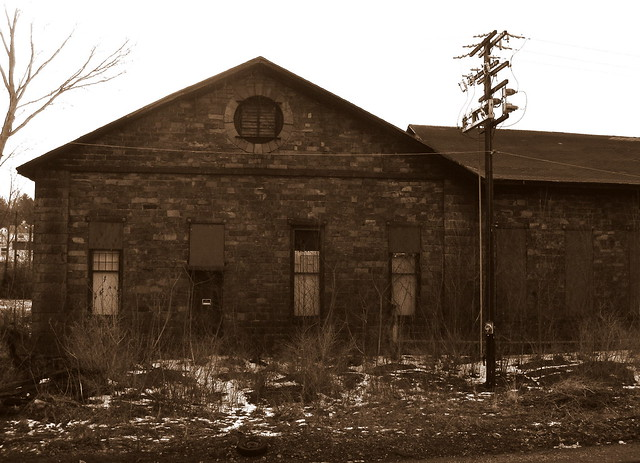 Weatherly Pa Lehigh Velley Rr 1869 Building Flickr