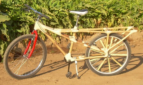 Calfee Bamboo Cargo Bike | by Hugger Industries