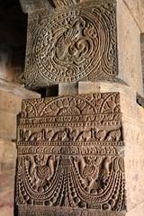 Cave 1. Ornamental Pillars (6)