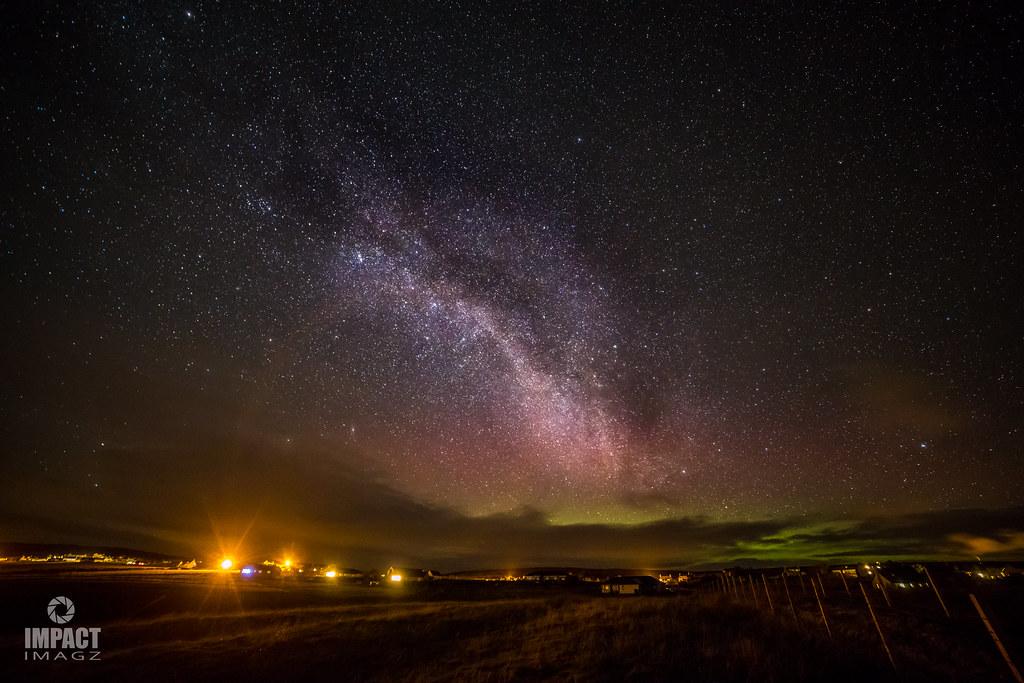 Aurora Borealis over Gress.