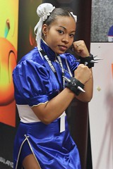 Oni-Con 2007: Chun-Li of Street Fighter Series | by Alan Gee