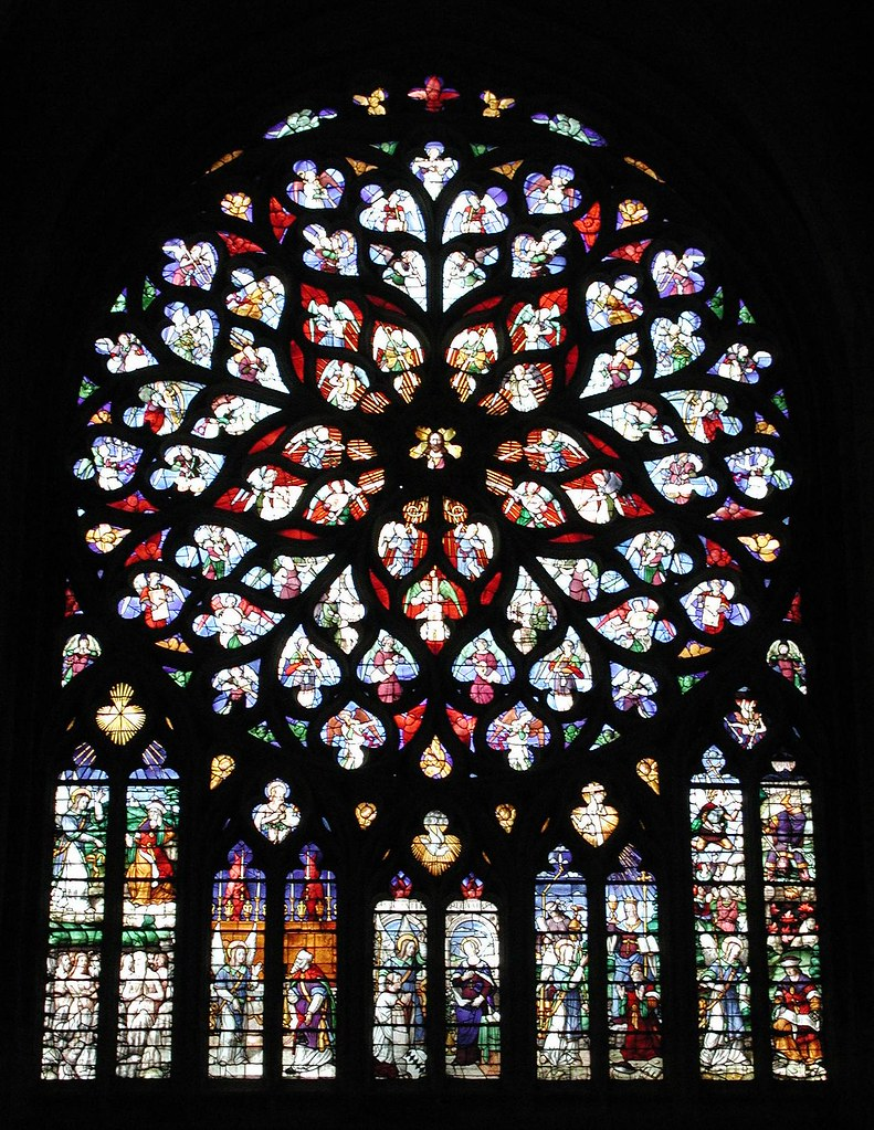 Sens Cathedral Rose Window