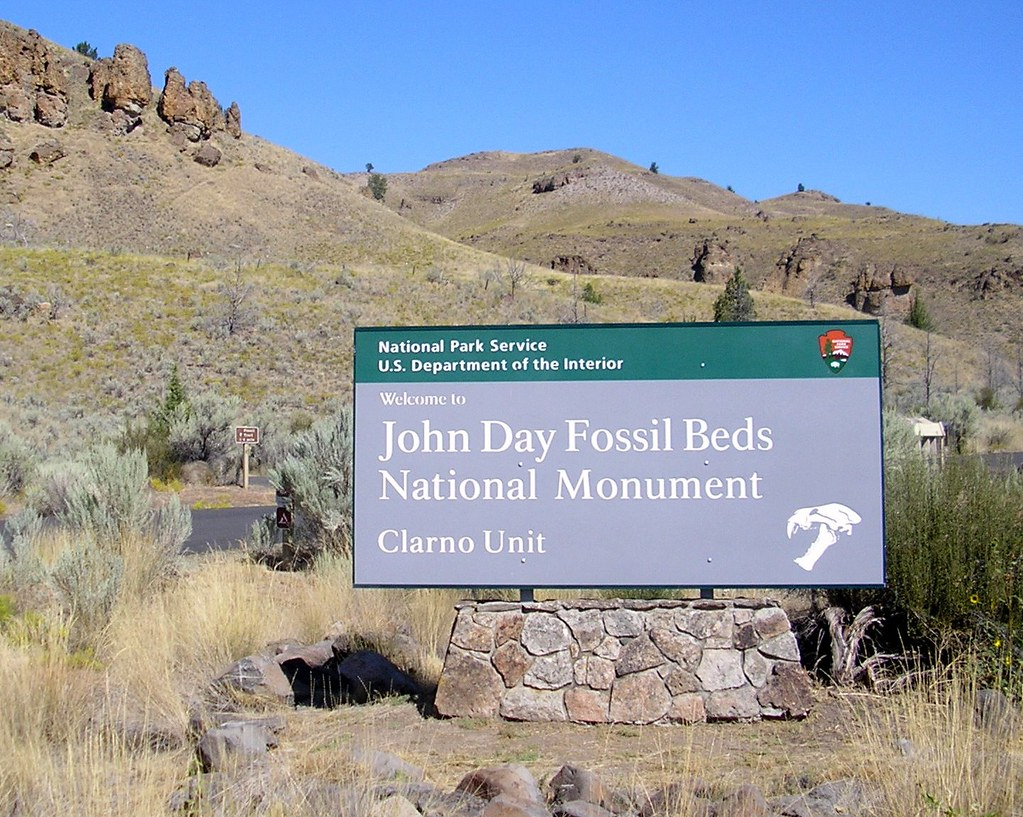 John Day Fossil Beds National Monument Clarno Unit Flickr