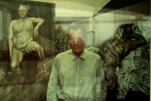 Lucian Freud (with Leigh Bowery seated), Bruce Bernard, Ar ...