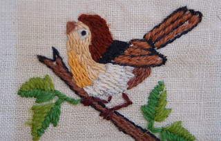 Embroidered Bird 2 | by hurrayic