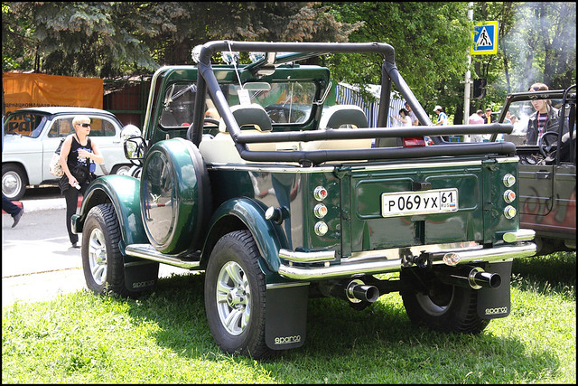 Custom >> GAZ 69 custom rear | Wasile | Flickr