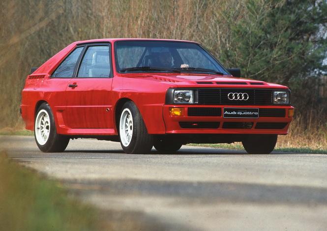 Audi Sport quattro (B2), model year 1984