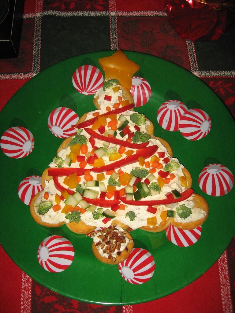 Christmas Tree Veggie Tray.Christmas Tree Veggie Tray Lisaamulvey Flickr