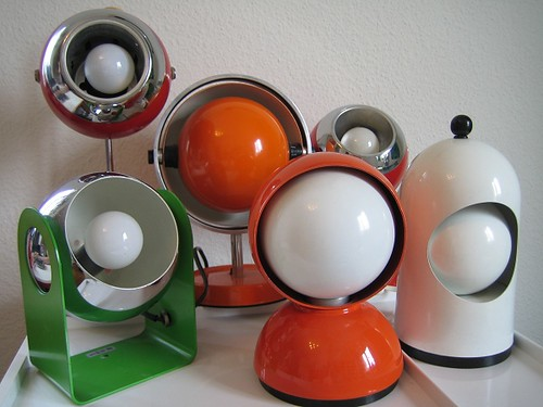 My space age design collection eclisse lamp lightolier l for Space age design
