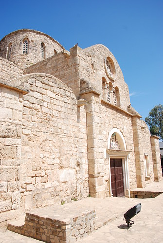 St. Barnabas Monastery, Occupied Cyprus | by George M. Groutas