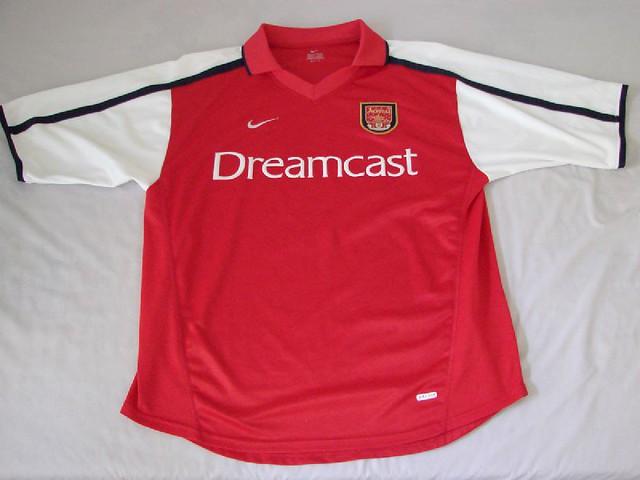 4700a3eb1 ... Arsenal FC 00 02 Home Jersey