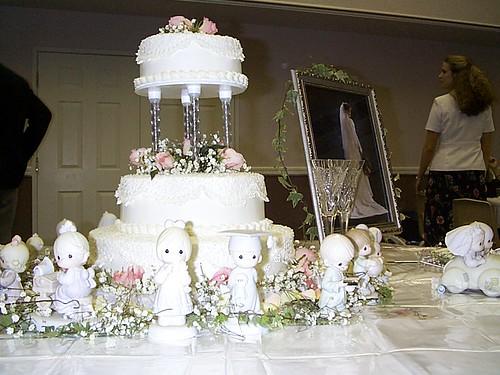 Precious Moments Cake Topper Brunette