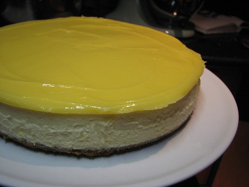 Goat Cheese and Lemon Cheesecake with Hazelnut Crust | Flickr