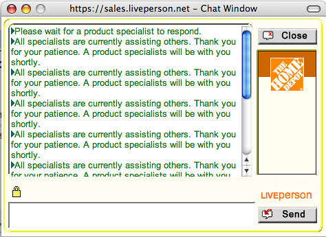 home depot online chat england