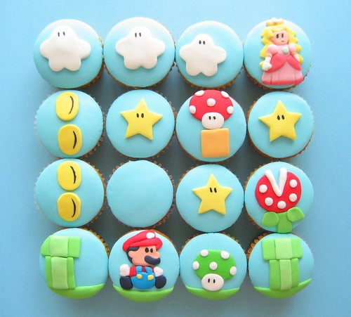 super mario cupcakes 2 | by hello naomi