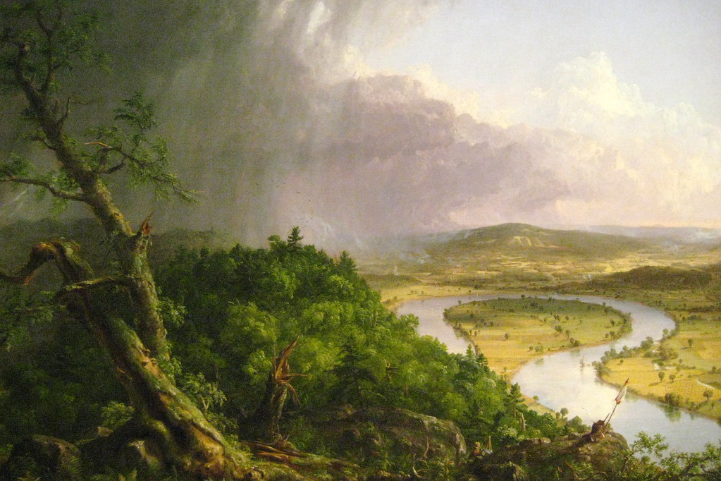 Nyc Metropolitan Musem Of Art Thomas Cole S View From