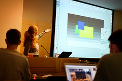 Ann Torrence's presentation on Photoshop | by calanan