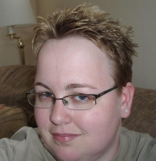 Pixie Spiky Cut   New haircut. I got sick of the weird ...