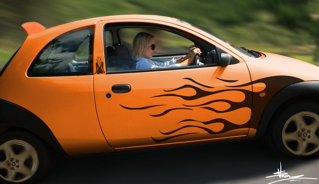 Pimped Ford Ka This Is My Mum S Car Vladimir Samsonik